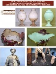 Restauración de ceramica y porcelana (museo romántico de madrid)