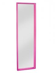 Espejo de suelo box en color fucsia