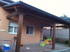 Porche madera1
