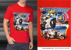 Impresion de camisetas: serigrafia a todo color - www.ecamisetas.com