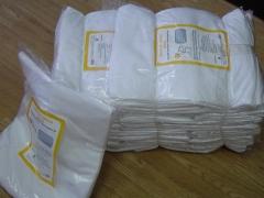 Trapos de limpieza s�bana blanca algod�n 100%, cortados y listos para usar. www.traposlospozicos.com