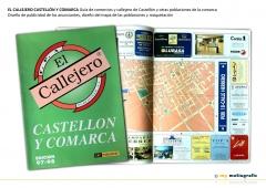 El callejero castellón y comarca diseño de callejero, publicidades y maquetación