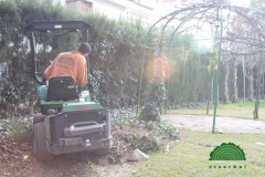 Movimiento tierra jardines