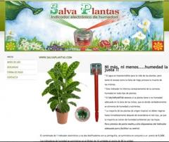 www.salvaplantas.com - Indicador electronico de humedad, ni m�s, ni menos....humedad la justa. !!