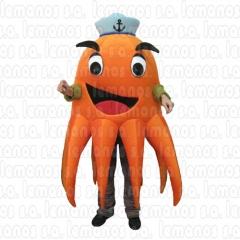 Pulpo mascota publicidad 1165