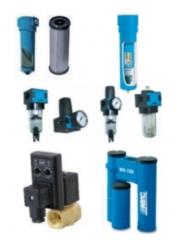 Purgadores y filtros tratamientos aire comprimido y grupos de filtraje.