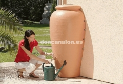 Don canal�n� - dep�sito �nfora ajustable a pared - color terracota