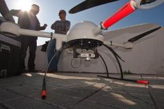 Fotografia aerea con drones.