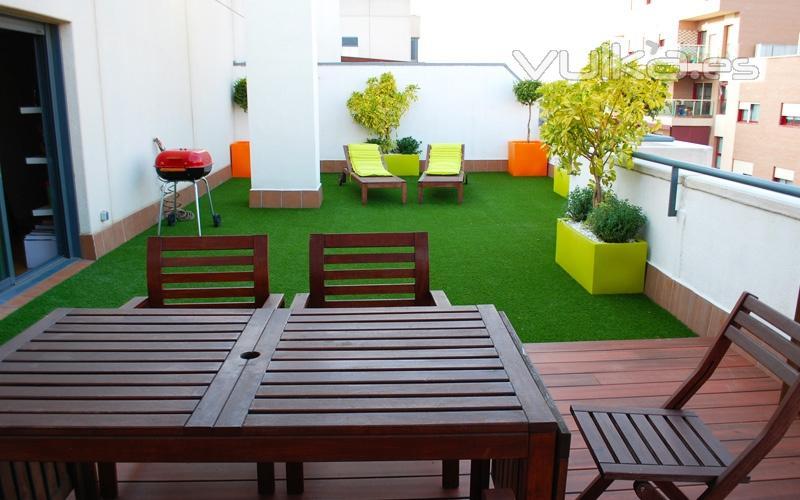 Botanicum - Cesped artificial terrazas ...