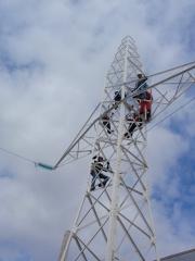 Curso de altura sobre torres del sector el�ctrico en nuestras instaciones de ontigola