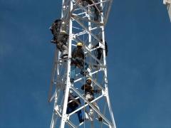 Curso de altura sobre torres del sector el�ctrico en nuestras instalaciones de ontigola