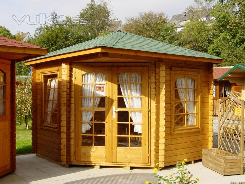 Mil anuncios com casas de madera baratas y prefabricadas for Caseta jardin ocasion