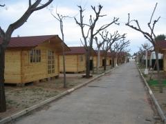 Nuestras casas de madera para Camping Oropesa de Mar