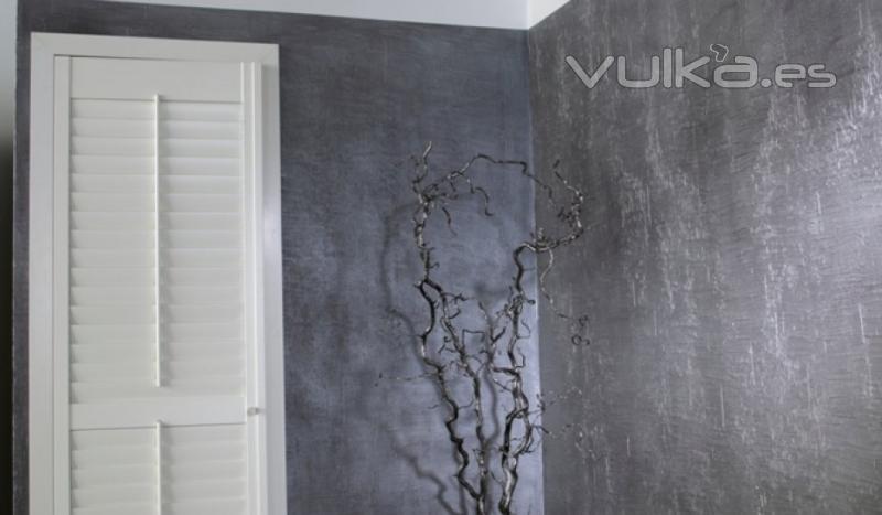 Foto cemento pulido colecci n privada mineral deco - Pared cemento pulido ...
