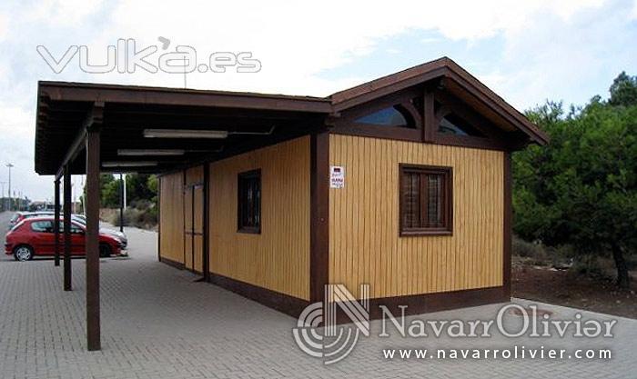 Foto caseta de madera para chiringuito for Casetas jardin baratas segunda mano