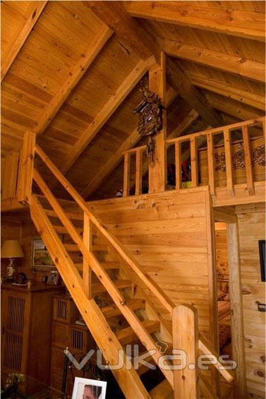 Foto Casas e interiores de madera