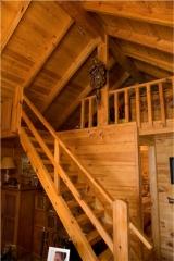 Casas e interiores de madera