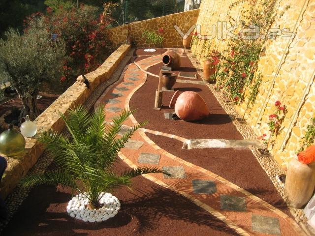 Foto de jardines de dise o foto 6 for Jardines sencillos y economicos