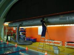 Limpieza de conductos de aire acondicionado y tubos de ventilaci�n. limpieza conductos industriales