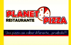 Planet pizza, pídelo en www.motoreparto.com
