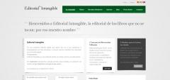 Página web - editorial intangible, libros electronicos y ebooks online