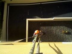 Limpieza de morteros especiales de edificios.
