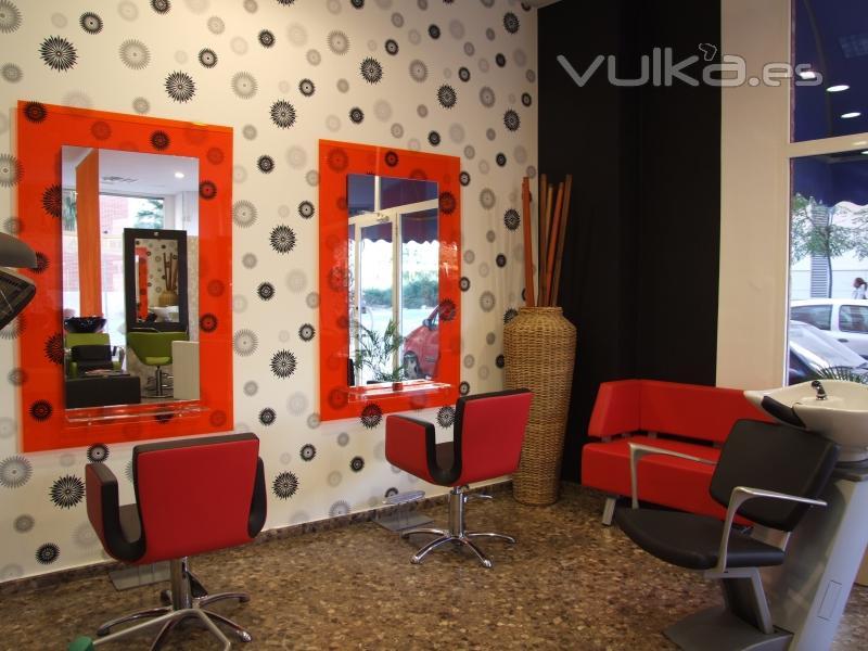 Foto exposici n de mobiliario de peluqueria - Mobiliario de peluqueria valencia ...