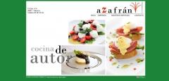 Diseño web - azafran catering valencia