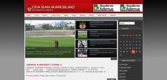 Diseño web - club deportivo artístico san marcelino