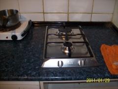 Cocina instalada nueva