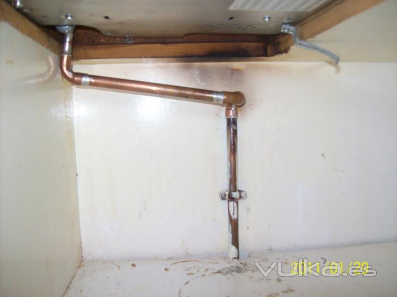 Instalaciones frumento julio empresa instaladora for Instalacion gas butano
