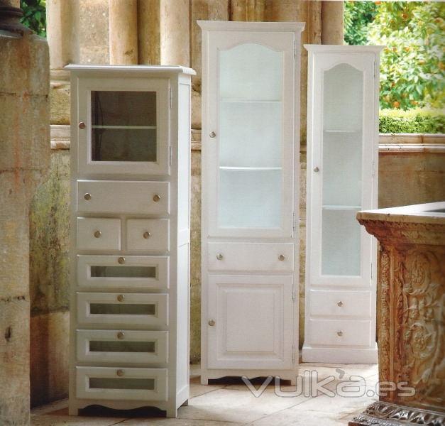 Muebles Baño Blanco Roto:Foto: Armarios de Baño Blanco Roto