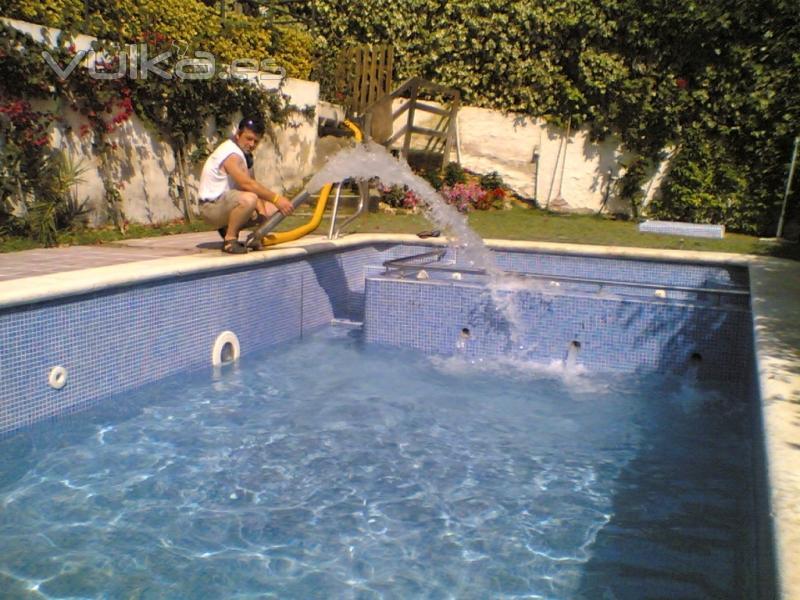 C mo ahorrar energ a parques alegres i a p for Llenar piscina precio