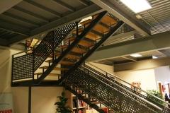 Escalera de hierro para interiores