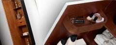 Almacenaje de la serie lucrecia de muebles de baño maderó
