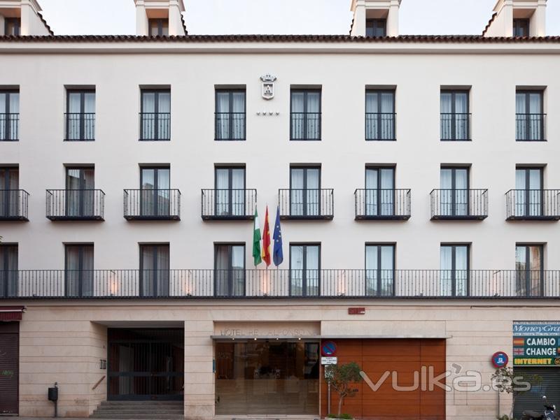 Fachada Hotel Rey Alfonso X