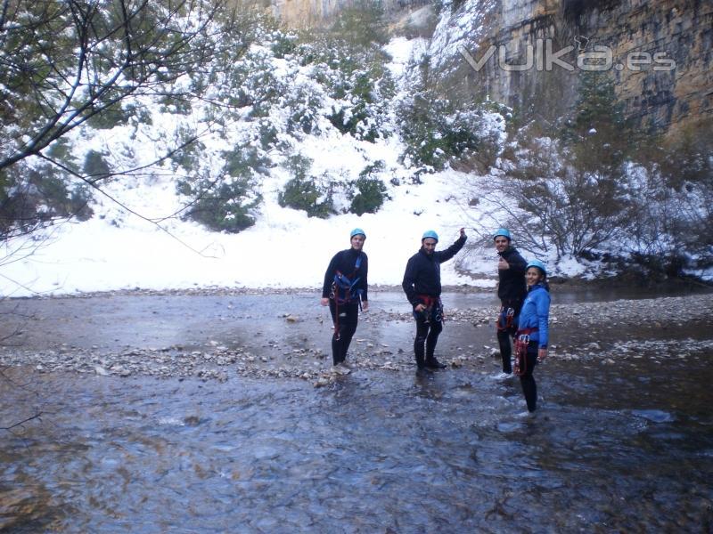 Barranco del Basender también en invierno.