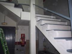 Proteccion de escaleras