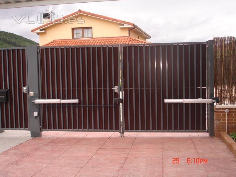 Foto automatizacion de puertas batientes - Automatizacion de puertas ...