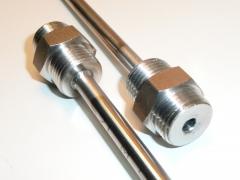 Sondas de temperatura, termopares, pt100, termoresistencias; soldaduras de calidad