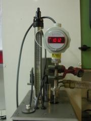 Sonda de temperatura termopar con visualización y transmisor con lazo 4-20ma