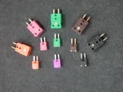 Conectores compensados para termopares tipo k, j, s, n, e, t