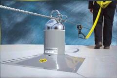 L�nea de vida de cable latchways - kobbeco para cubiertas de hormig�n o acero