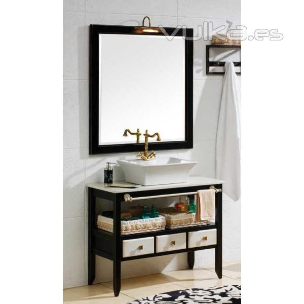 mueble baño abierto 95cm