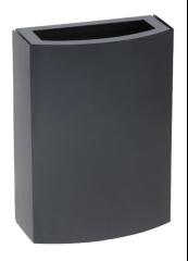 Z-3270 papelera de pared  metalica quasar
