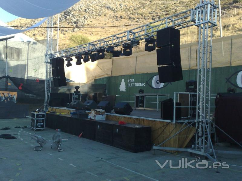 Foto montaje sonido e iluminacion para eventos - Empresas de montaje ...