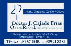 Otorrinolaring�logo: doctor j.cajade fr�as