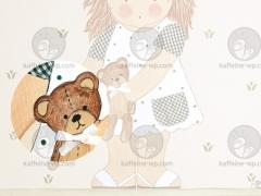 Cuadros infantiles personalizados en kaffeine-detalle complemento