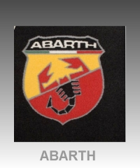 Alfombrillas fiat abarth
