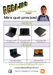 Super rebajas en portátiles de Consumibles A3F (www.consumiblesa3f.com)